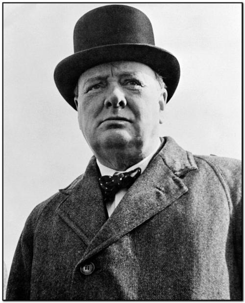 Уинстон Черчилль политик