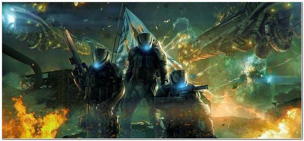 фантастика космические войны