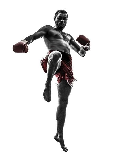 Тайский бокс боец