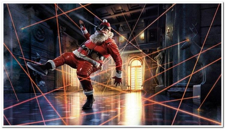 Дед Мороз крадется