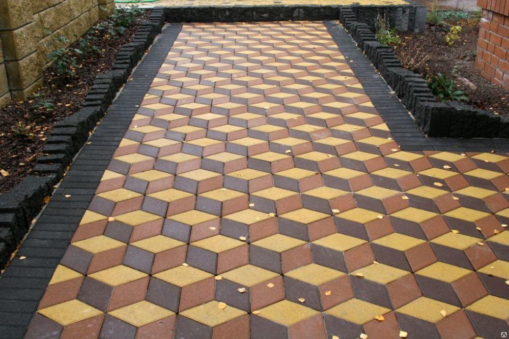 3D-тротуарная плитка