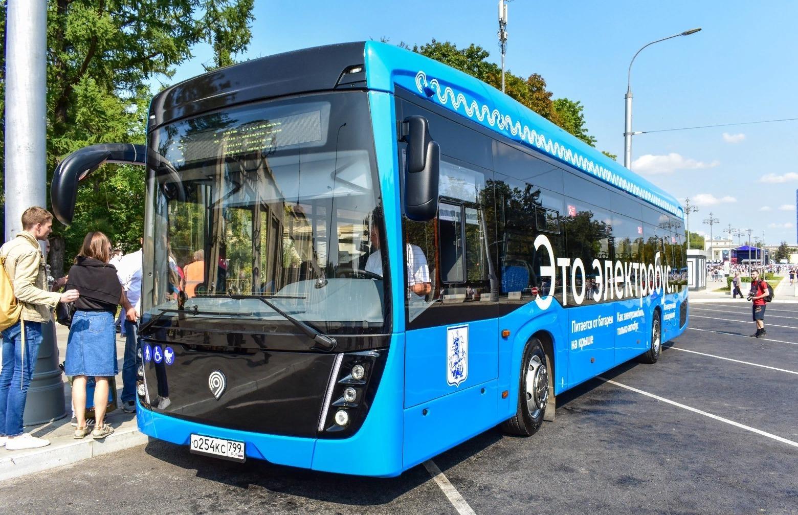 Собянинские электробусы