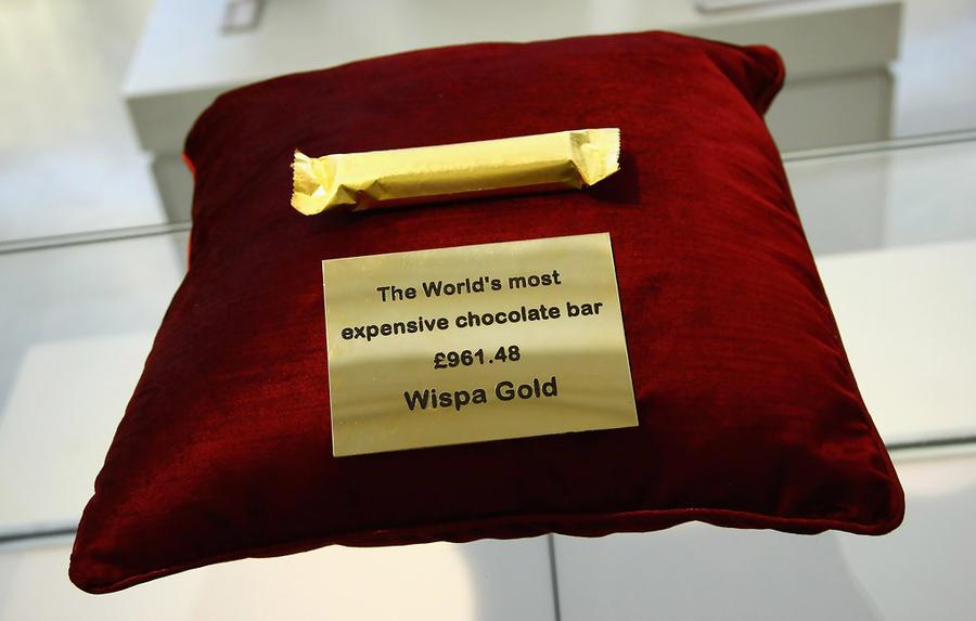 Wispa Gold Wrapped Chocolate Bar