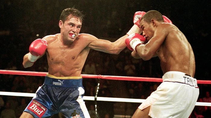 Оскар Де Ла Хойя (США) против Феликса Тринидада (Пуэрто-Рико)