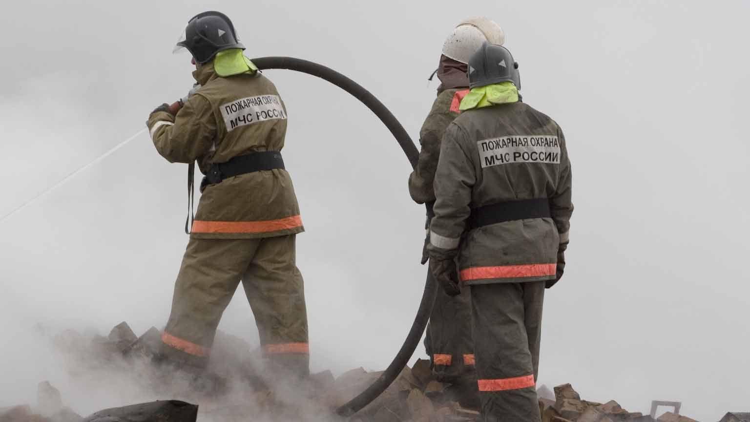 Пожарные МЧС