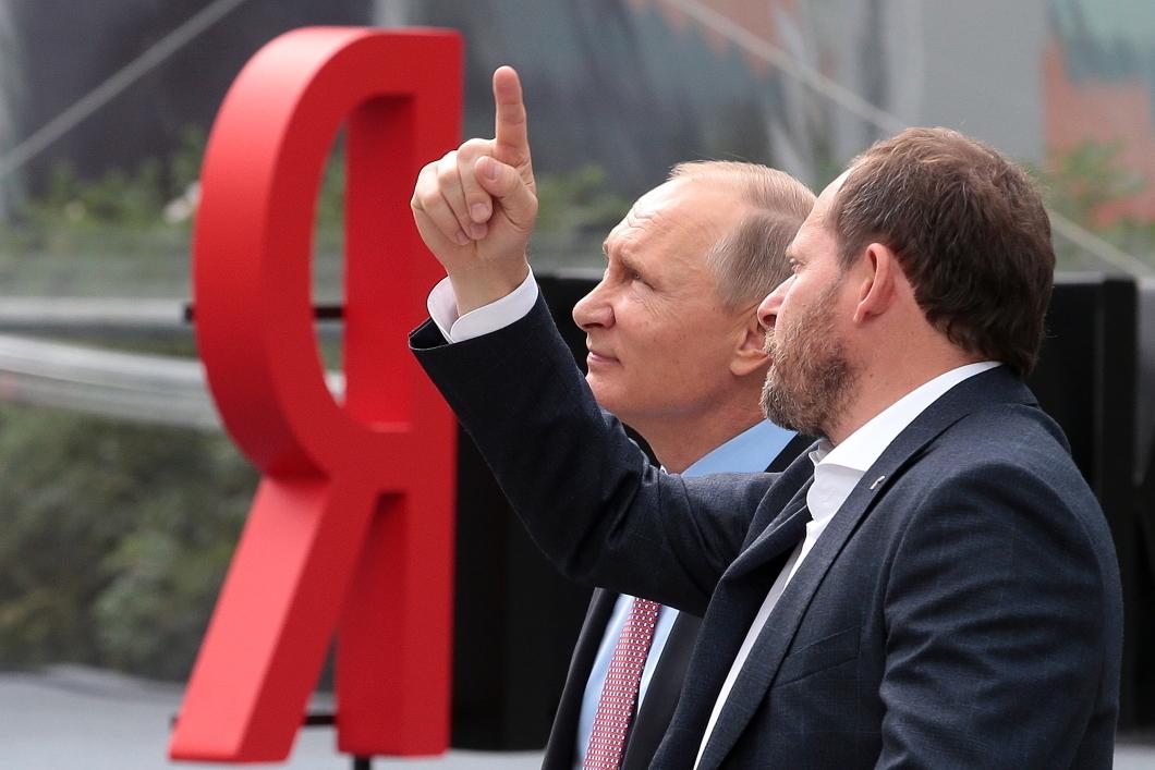 Аркадий Волож, один из владельцев Яндекса