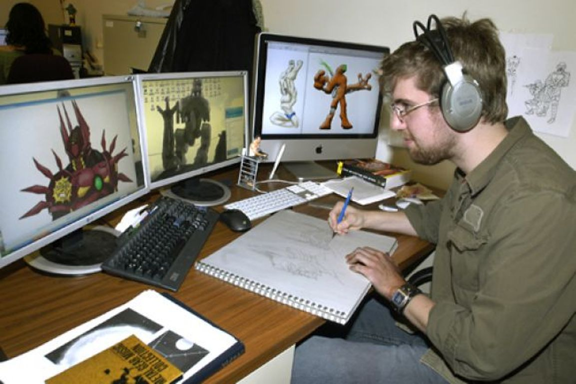 Работа гейм-дизайнера