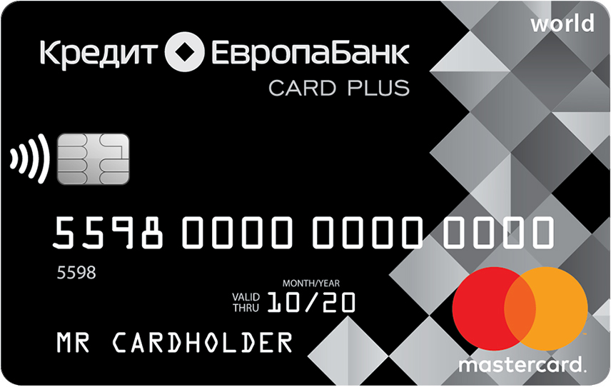 Card Credit+ «Кредит Европа Банк»