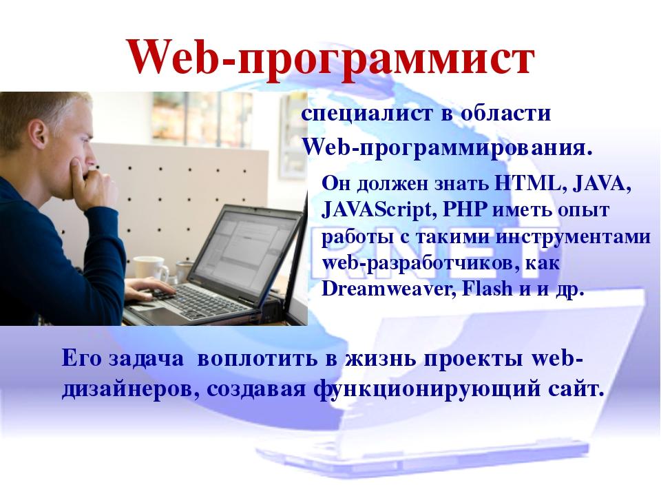 Что должен знать веб-разработчик