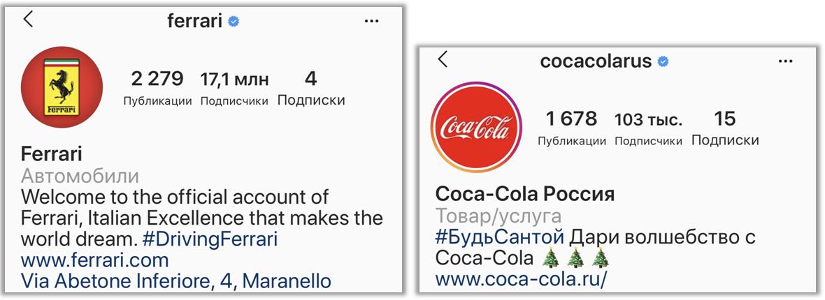 Аватары популярных брендов