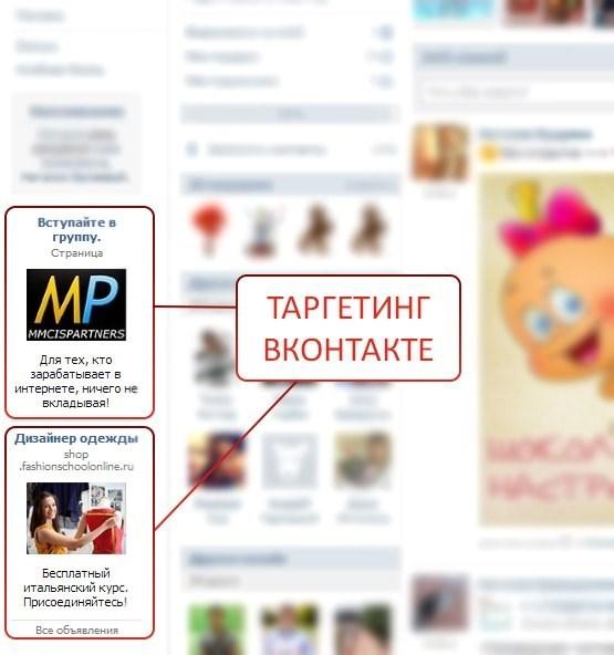Таргет вконтакте