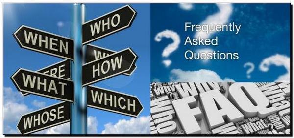 FAQ вопросы и ответы