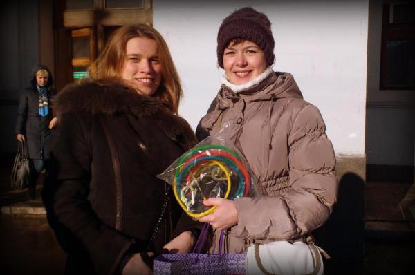 Мария Ларина и Анна Цуканова
