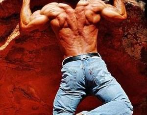 Подтягивания на скале