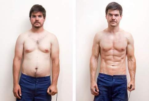 День 56. Изменение телосложения