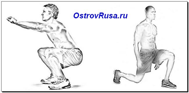 колено-доминантные упражнения