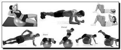 кор упражнения