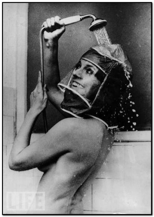 шапочка для душа 1970 год