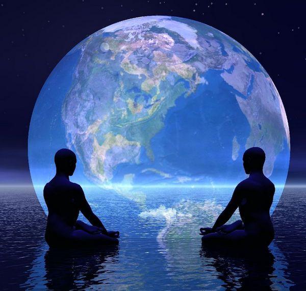 учитель и ученик медитация