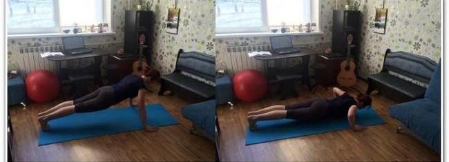 отжимания в упоре лежа в квартире