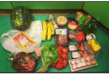 продукты питания из супермаркета