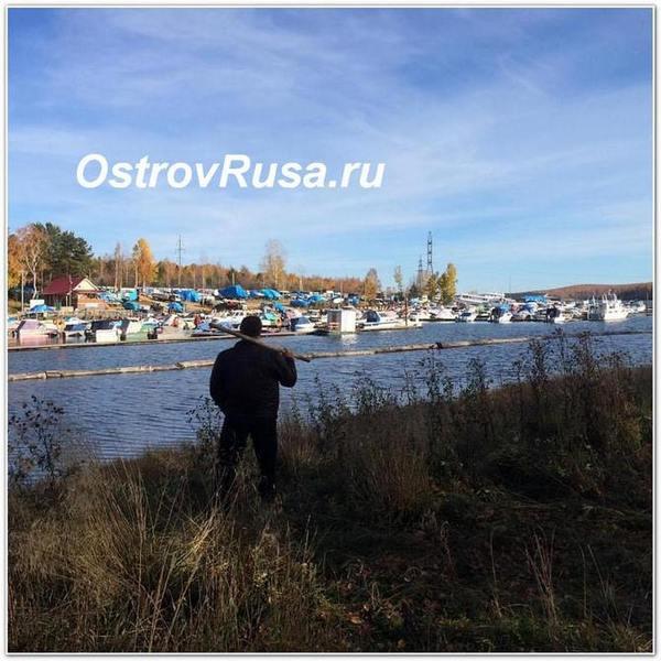Руслан Дудник в сибирской тайге