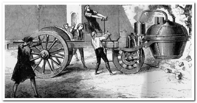 Первый автомобиль в мире