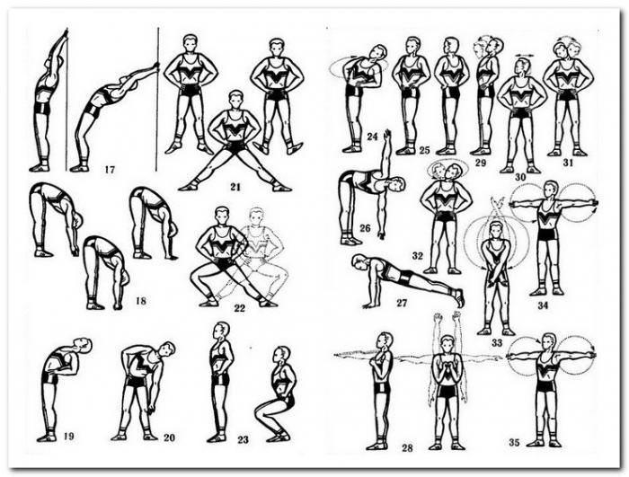 Воронеже упражнения для проф гимнастики интернет-портал правовой