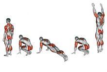 Берпи силовое упражнение