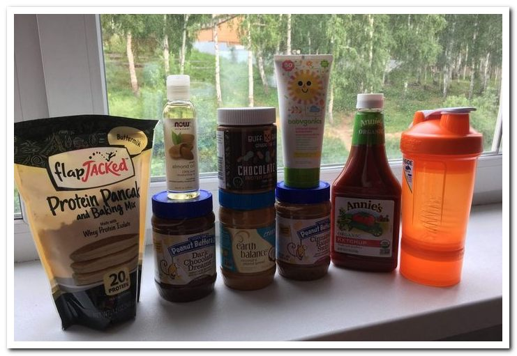 Продукты питания из iherb