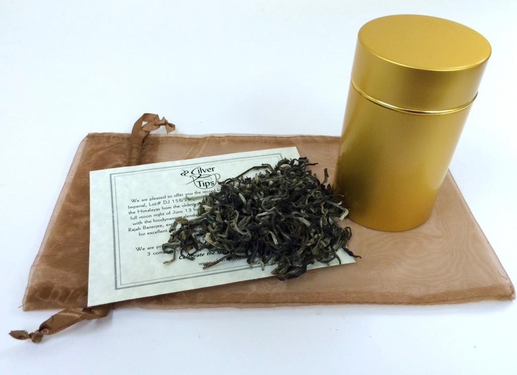 Серебряный императорский чай