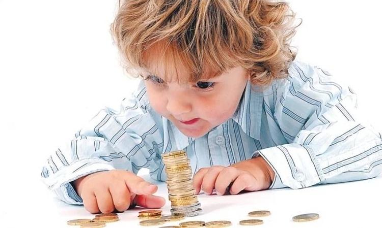 Мальчик с монетами