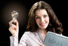 Девушка с идеями
