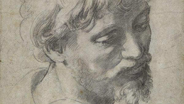 Голова молодого апостола