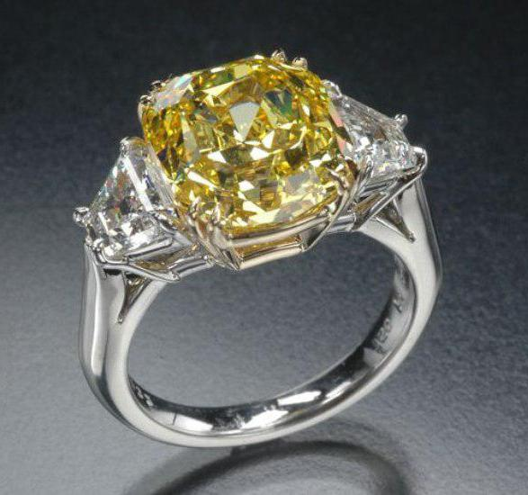 Nova Yellow Diamond от Tiffany&Co