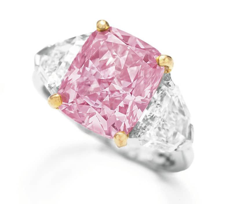 Vivid Pink Ring
