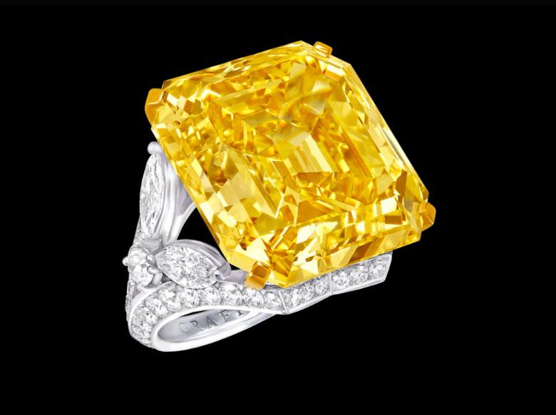 Vivid Yellow Ring