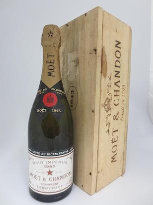 Moet & Chandon Bi Centenary Cuvée Dry Imperial 1943