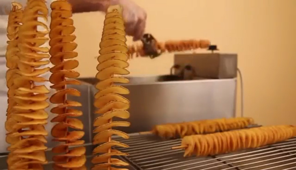 Спиральные чипсы