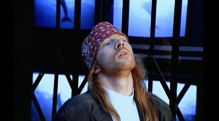 клип Guns N'Rose «Estranged»