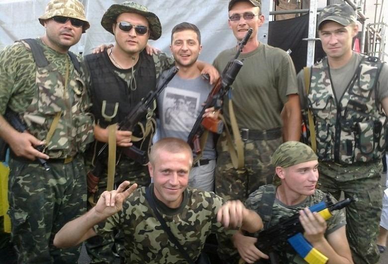 Владимир с украинской армией