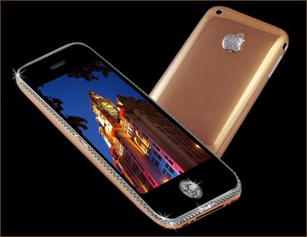 iPhone с бриллиантами