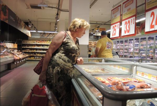 Инфляция на розничных ценах