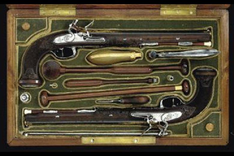 Пистолеты Симона Боливара