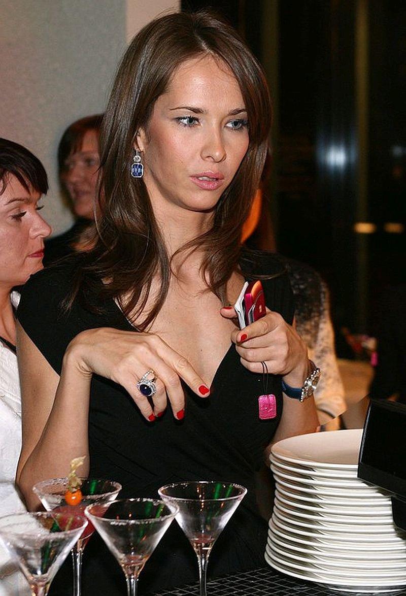 Татьяна на вечеринке