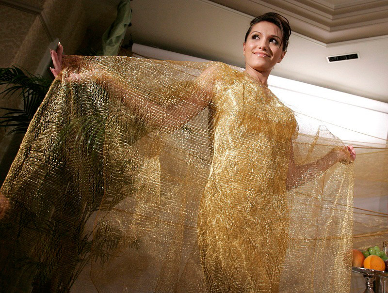 Платье из проволоки