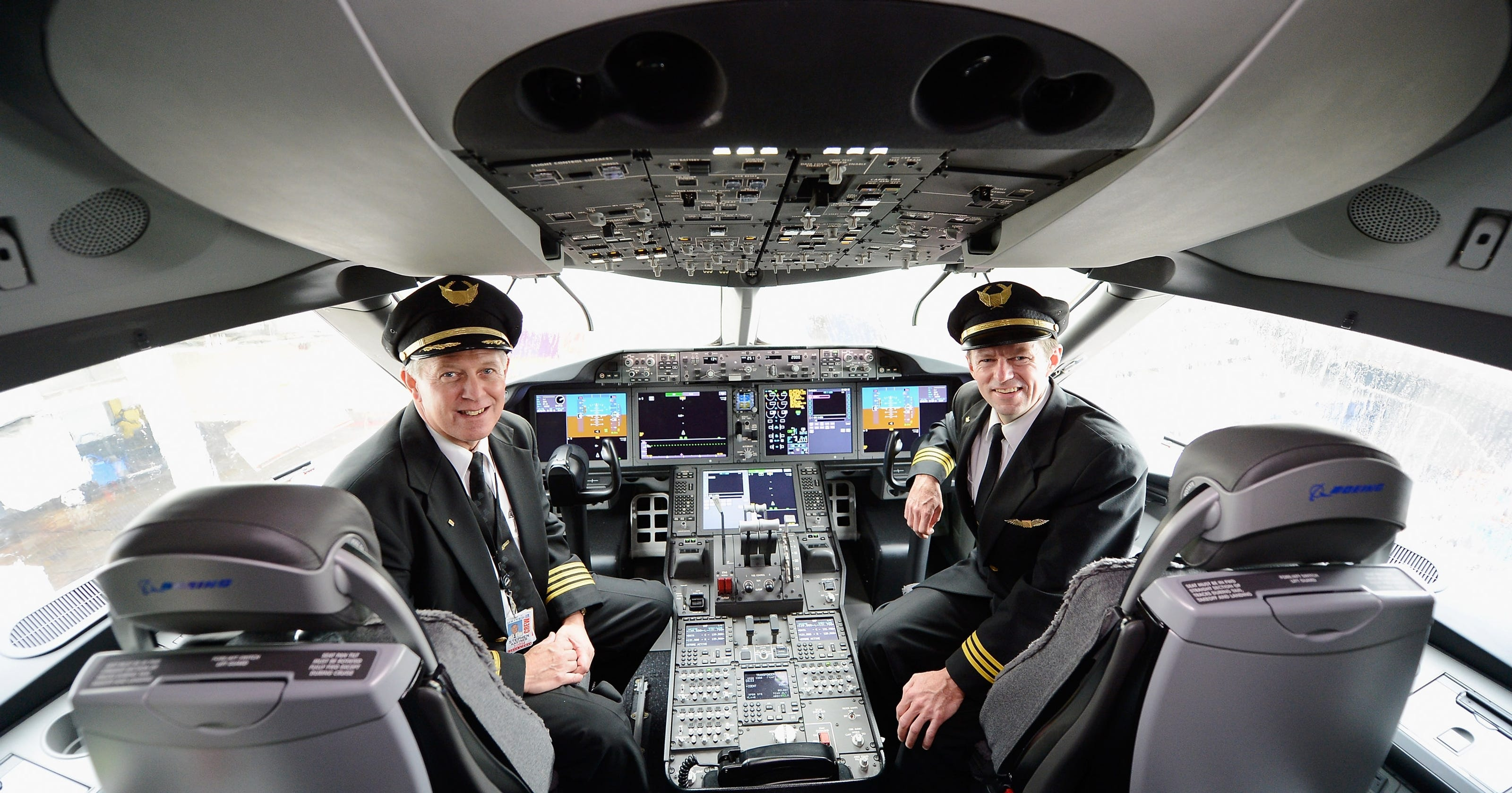 Пилоты Аэрофлота