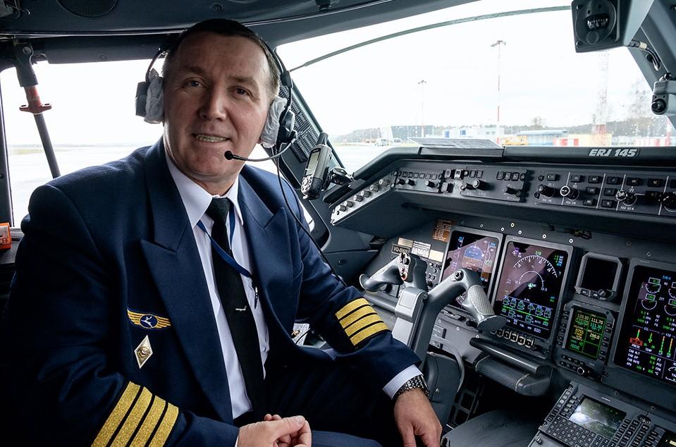 Капитан внутренних авиарейсов