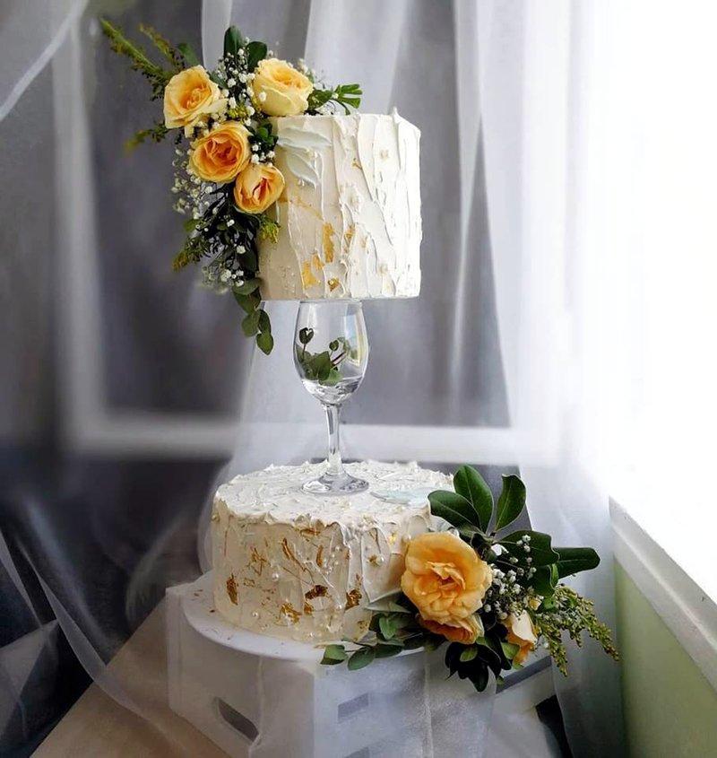 Торт со вкусом мохито