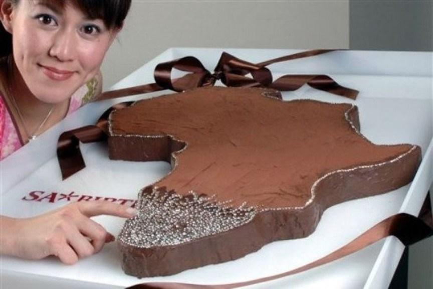 Шоколадный торт «Valentine Diamond»